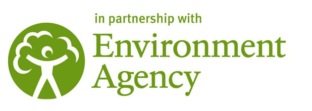 In partnership with Environment agency logo